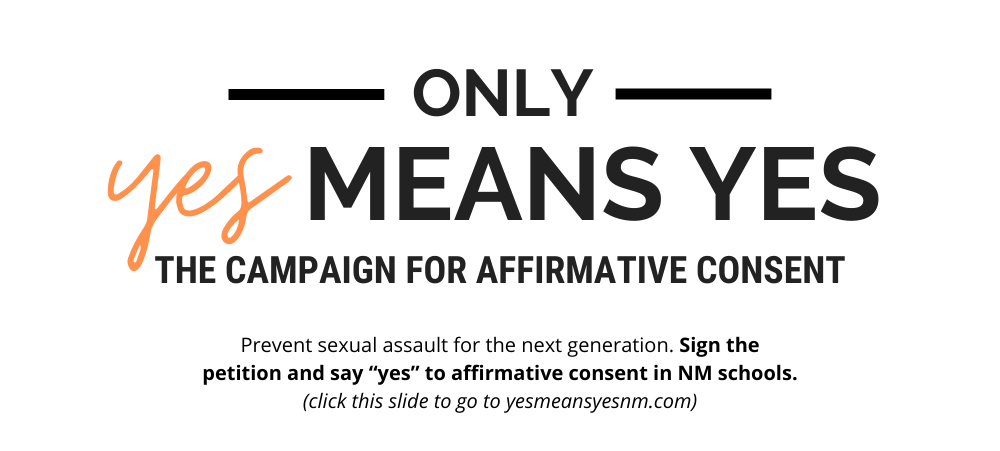 only yes means yes - the campaign for affirmative consent